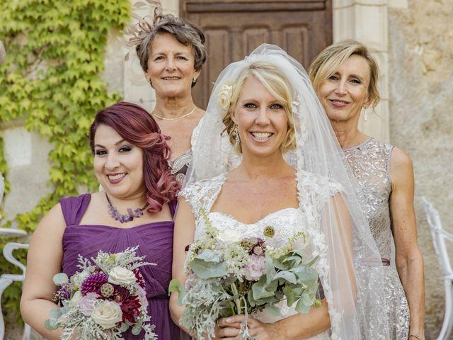 Le mariage de Alex et Gretchen à Biras, Dordogne 48