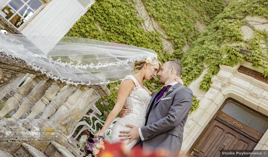 Le mariage de Alex et Gretchen à Biras, Dordogne