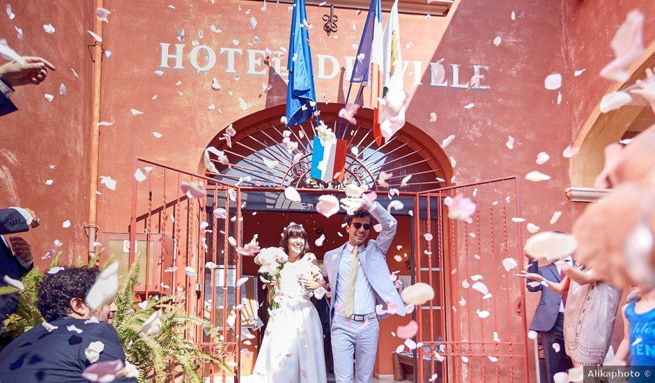 Le mariage de Benjamin et Chloé à Cagnes-sur-Mer, Alpes-Maritimes