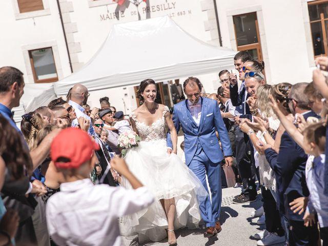Le mariage de Yohann et Nelly à Présilly, Haute-Savoie 11