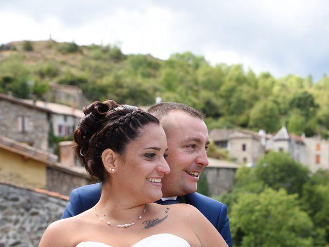 Le mariage de Loïc et Anaïs à Pélussin, Loire 16