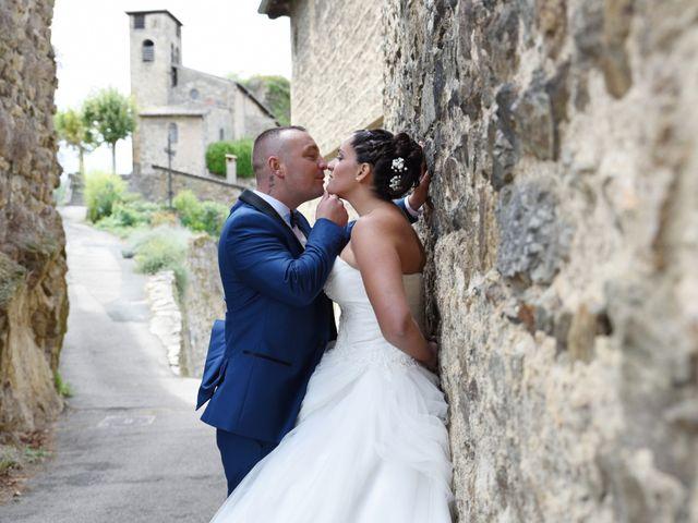 Le mariage de Loïc et Anaïs à Pélussin, Loire 20