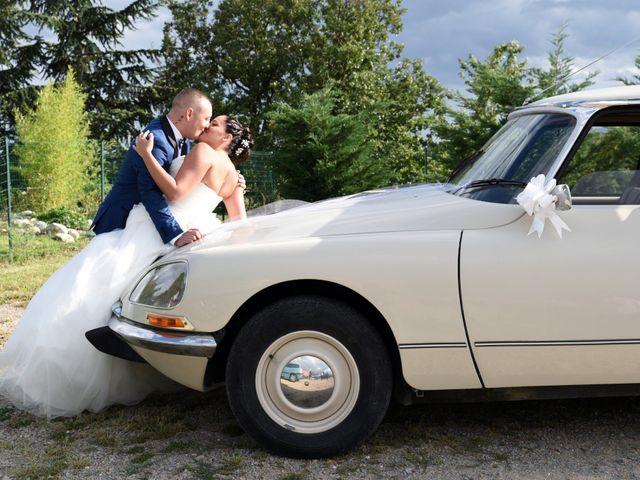 Le mariage de Loïc et Anaïs à Pélussin, Loire 42