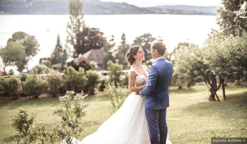 Le mariage de Yohann et Nelly à Présilly, Haute-Savoie
