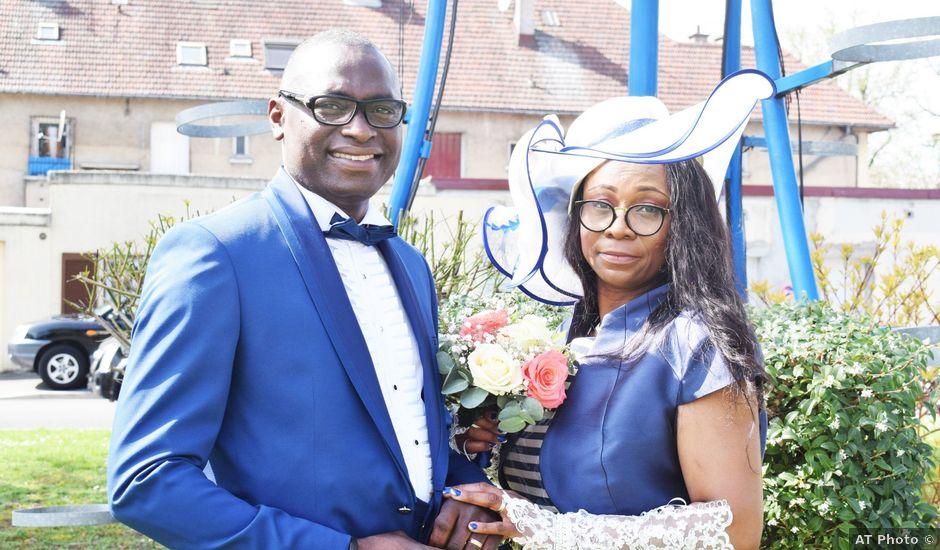 Le mariage de Fritz et Francoise à Dugny, Seine-Saint-Denis