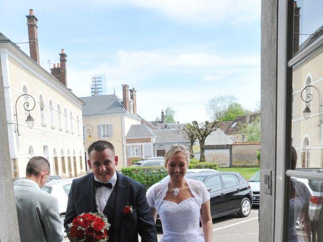 Le mariage de Quentin et Alicia à Saint-Fargeau, Yonne 35