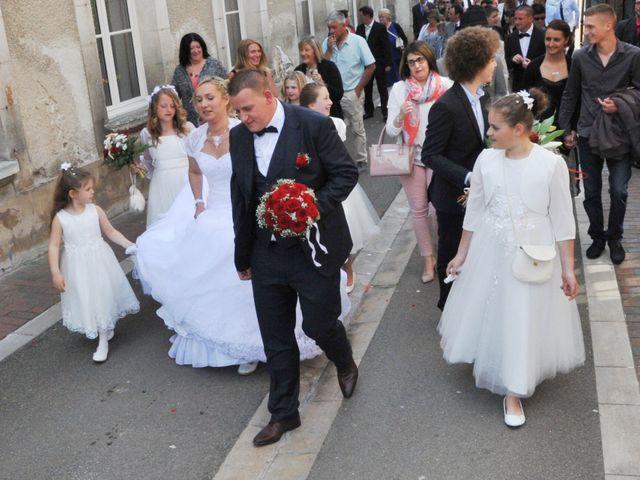 Le mariage de Quentin et Alicia à Saint-Fargeau, Yonne 45