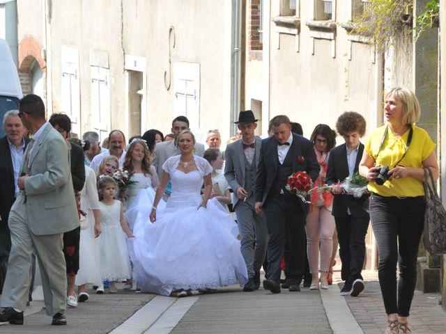 Le mariage de Quentin et Alicia à Saint-Fargeau, Yonne 46
