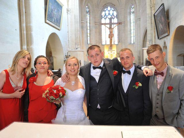 Le mariage de Quentin et Alicia à Saint-Fargeau, Yonne 55