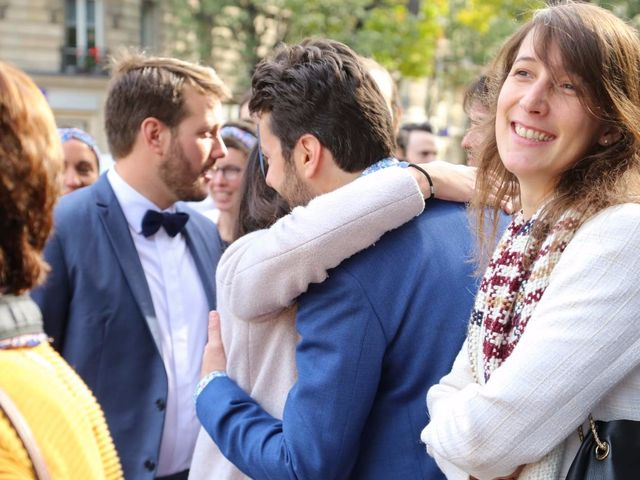Le mariage de François et Claire à Paris, Paris 9