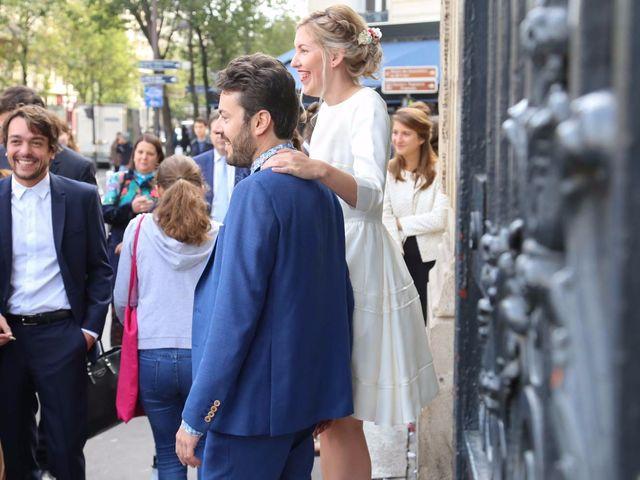 Le mariage de François et Claire à Paris, Paris 10