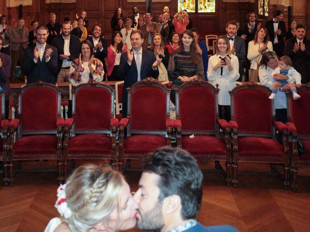 Le mariage de François et Claire à Paris, Paris 12