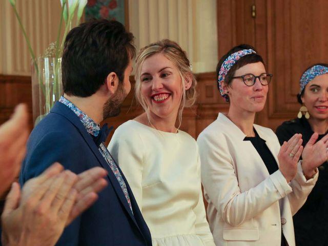Le mariage de François et Claire à Paris, Paris 13