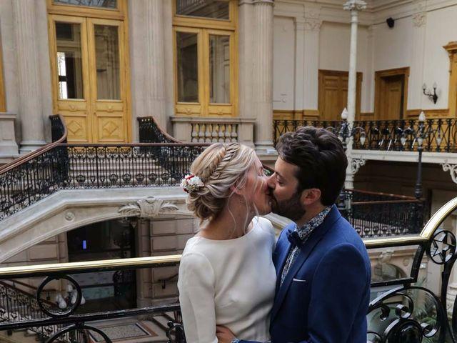 Le mariage de François et Claire à Paris, Paris 14
