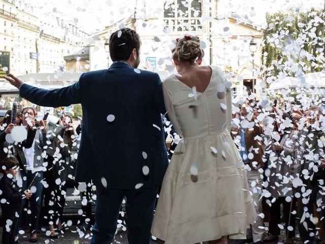 Le mariage de François et Claire à Paris, Paris 15