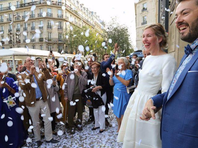 Le mariage de François et Claire à Paris, Paris 16