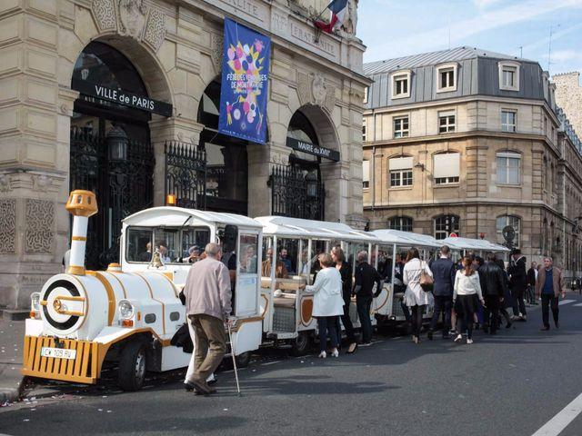 Le mariage de François et Claire à Paris, Paris 17