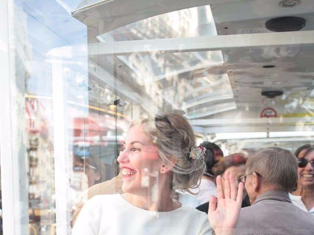 Le mariage de François et Claire à Paris, Paris 18