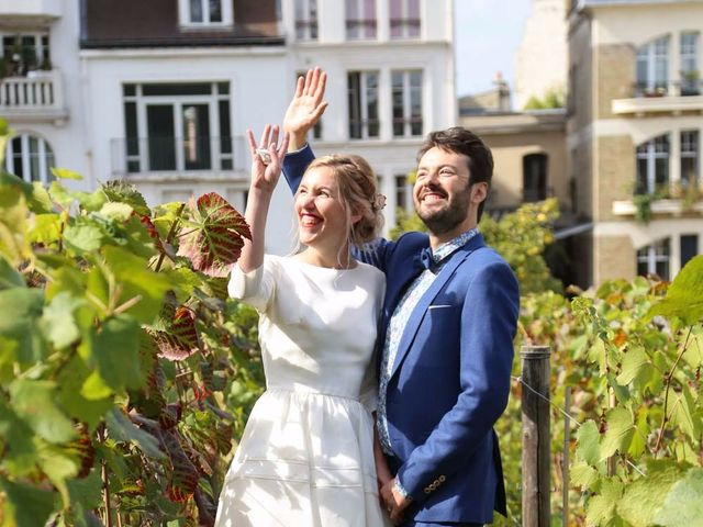 Le mariage de François et Claire à Paris, Paris 35