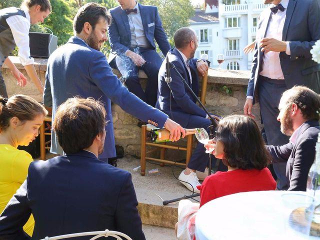 Le mariage de François et Claire à Paris, Paris 85