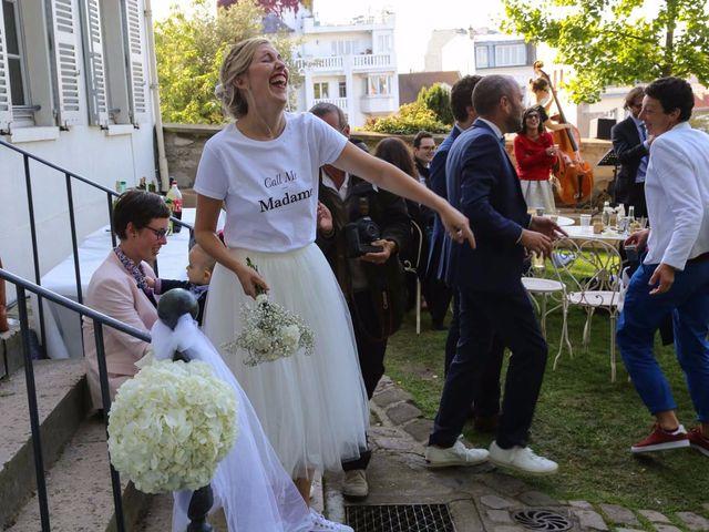 Le mariage de François et Claire à Paris, Paris 91