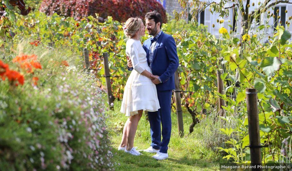 Le mariage de François et Claire à Paris, Paris