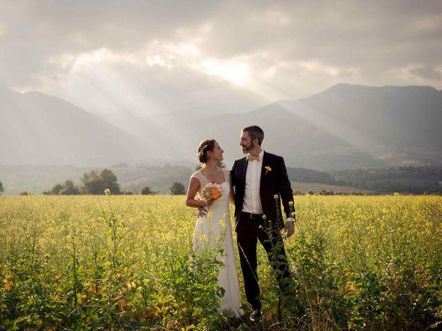 Le mariage de Antoine et Perrine à Monestier-de-Clermont, Isère 1
