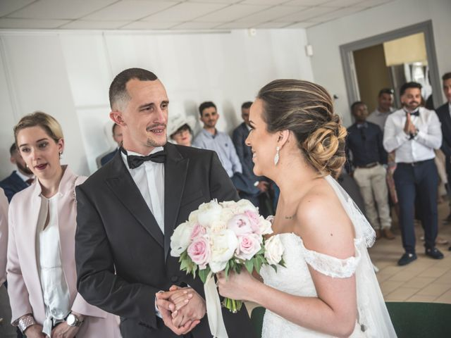 Le mariage de Ludo et Sandra à Druyes-les-Belles-Fontaines, Yonne 15