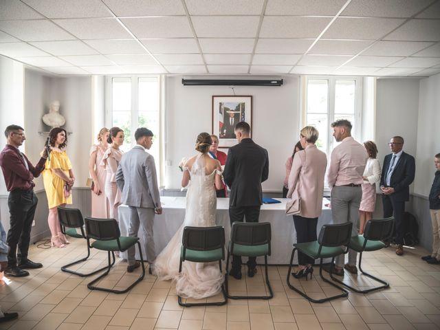 Le mariage de Ludo et Sandra à Druyes-les-Belles-Fontaines, Yonne 18