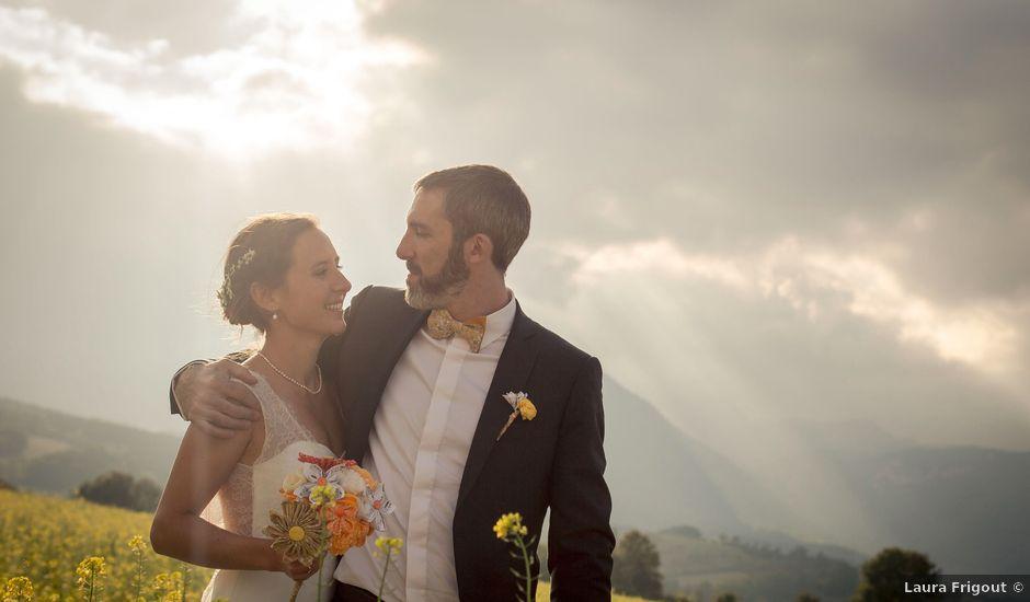 Le mariage de Antoine et Perrine à Monestier-de-Clermont, Isère