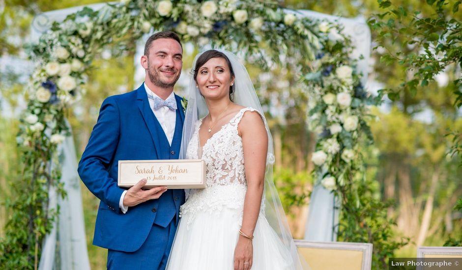 Le mariage de Yohan et Sarah à Aigues-Vives, Aude