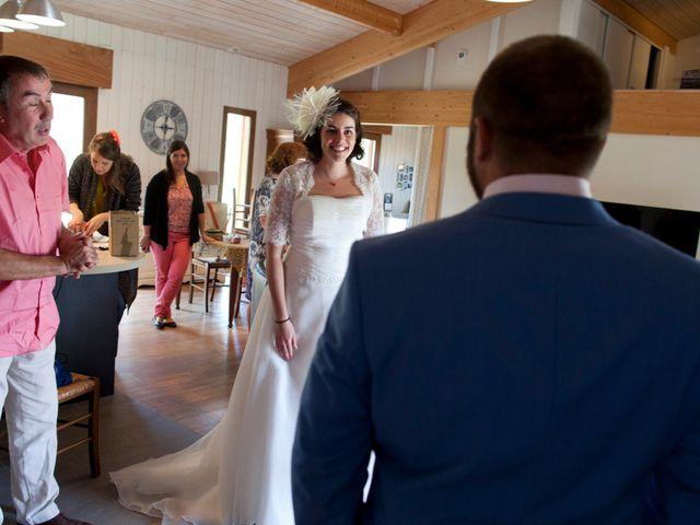 Le mariage de Maxime et Coralie à Cours-les-Bains, Gironde 4