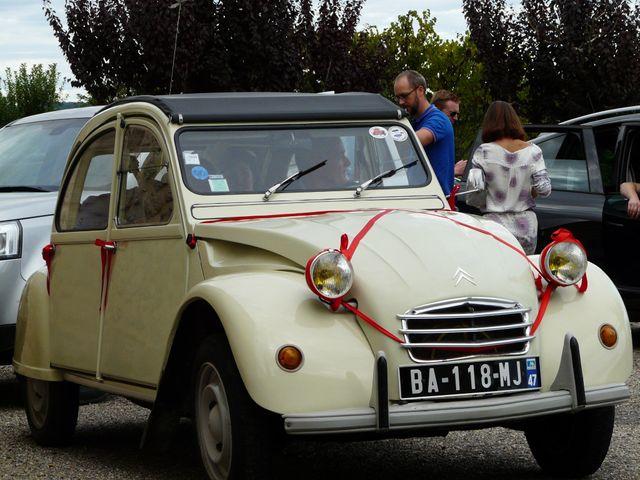 Le mariage de Maxime et Coralie à Cours-les-Bains, Gironde 19