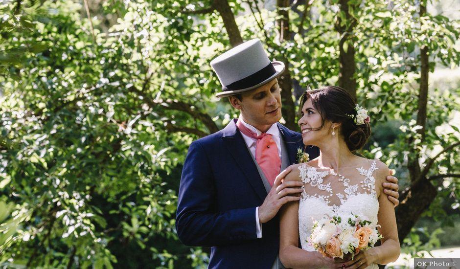 Le mariage de Georges et Polina à Hermeray, Yvelines