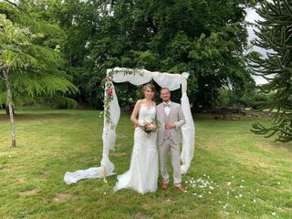 Le mariage de Angèle  et John