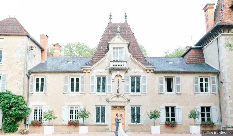 Le mariage de Glenn et Louisa à Vichy, Allier