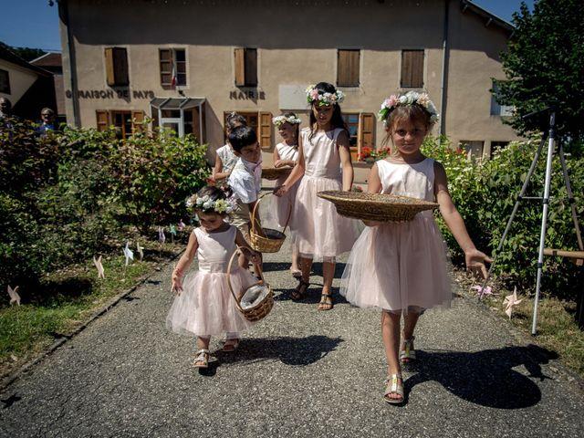 Le mariage de Richard et Priscillia à Charavines, Isère 44
