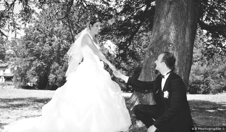 Le mariage de Olivier et Marine à Fourques, Pyrénées-Orientales