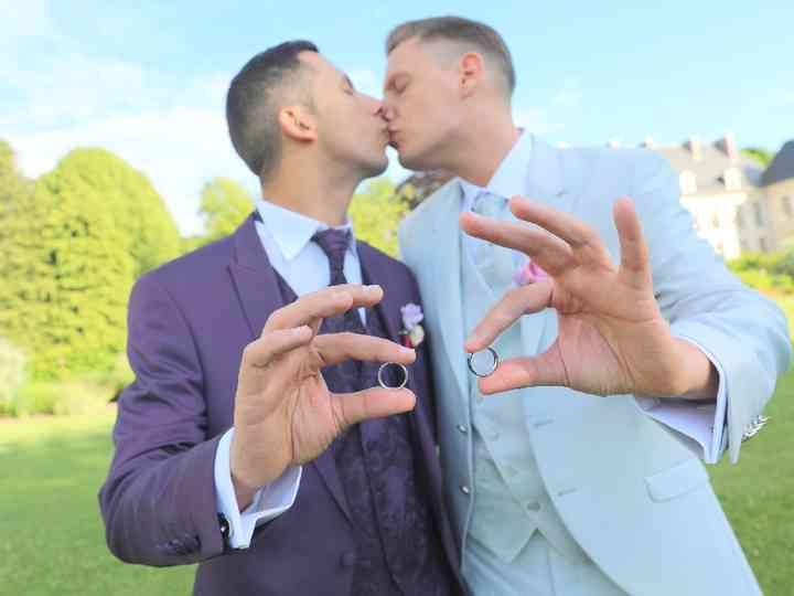 Le mariage de Gregori et Dimitri