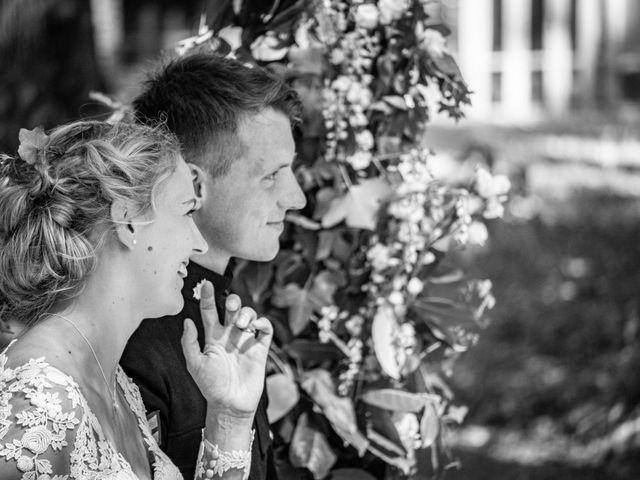 Le mariage de James et Linnea à Villedômer, Indre-et-Loire 37