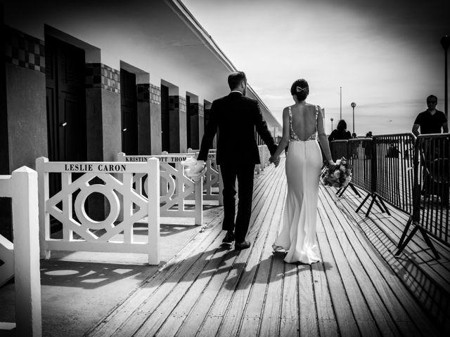 Le mariage de Laurent et Angelique à Deauville, Calvados 9