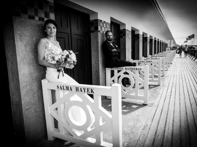Le mariage de Laurent et Angelique à Deauville, Calvados 10