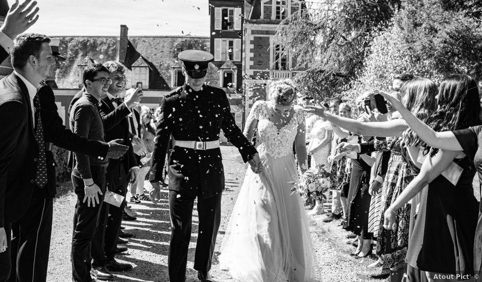 Le mariage de James et Linnea à Villedômer, Indre-et-Loire