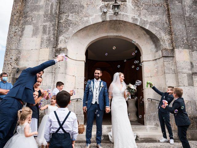 Le mariage de Nicolas et Laurie à Nercillac, Charente 27