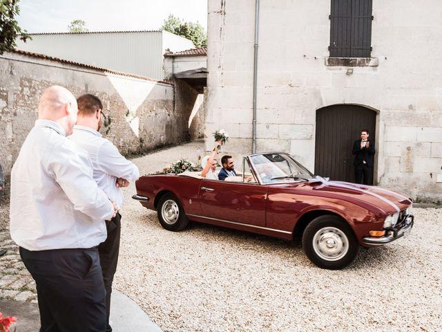 Le mariage de Nicolas et Laurie à Nercillac, Charente 53