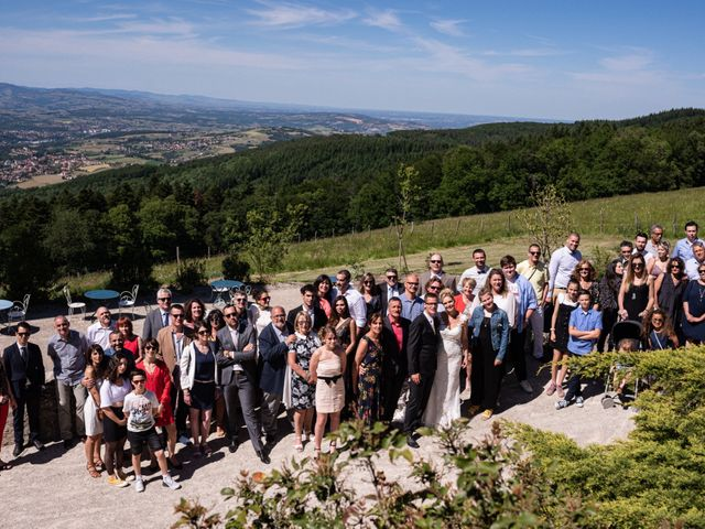Le mariage de Clément et Jackie à Vaugneray, Rhône 16