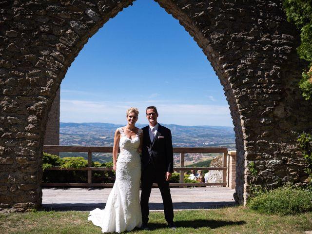 Le mariage de Clément et Jackie à Vaugneray, Rhône 17