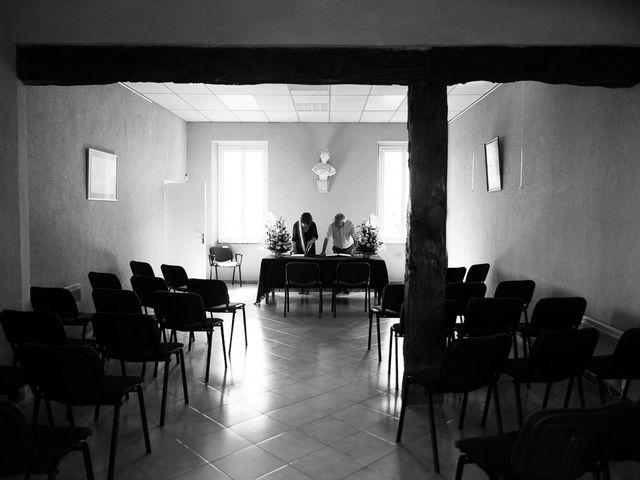 Le mariage de Eric et Delphine à Ordan-Larroque, Gers 3