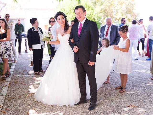 Le mariage de Eric et Delphine à Ordan-Larroque, Gers 4