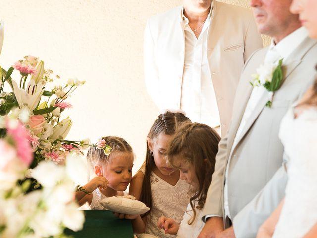 Le mariage de Eric et Delphine à Ordan-Larroque, Gers 7
